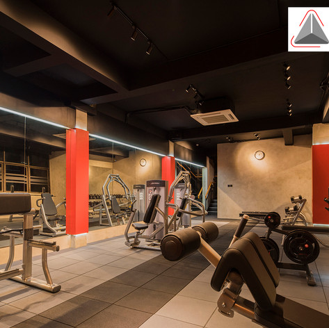 Interior View - Baramulti Group Fitness Center