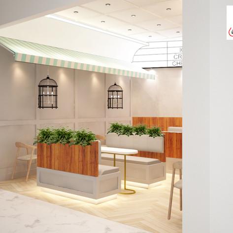 Interior view - EZO CHEESECAKES Bakery East Coast Mall