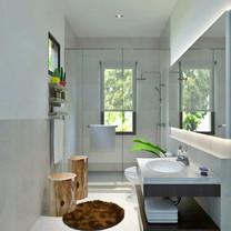 Master Bathroom Interior View - Villa Gunung Geulis