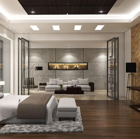 Master Bedroom View - Residence Pangkalan Bun