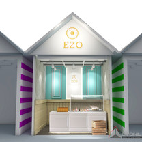 EZO Cheesecakes Booth - Central Park Mall