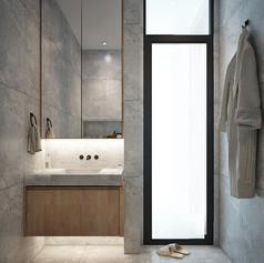 Children Bathroom Interior View - Residence Grisenda