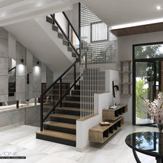 Main Stair View - Residence Pluit Timur