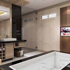 Master Bathroom View - Residence Pangkalan Bun
