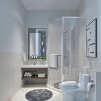 Guest Bathroom Interior View - Villa Gunung Geulis