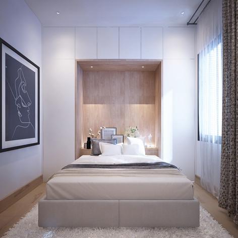 LiBedroom Interior View - Residence Pelepah Asri