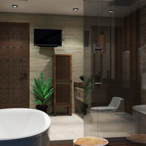 Master Bathroom Interior View - Residence Jatiwaringin