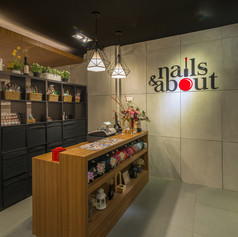 Interior View NAILS & ABOUT Store - EVONIL Architecture