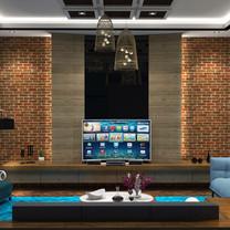 Living Room Interior View - Residence Jatiwaringin