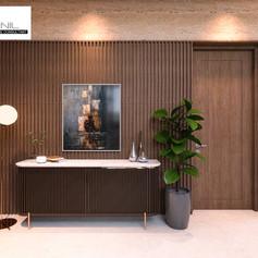 Living Room Interior View - Residence Sunter Hijau