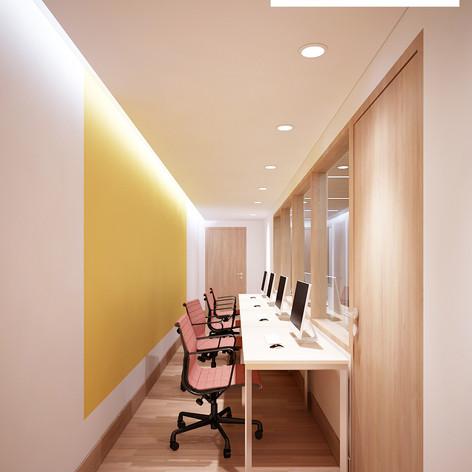 Interior View - Operational Office JW Marriott Jakarta