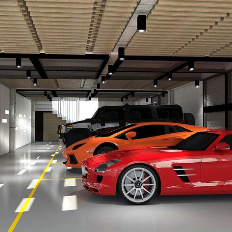 Garage View - Residence Pangkalan Bun