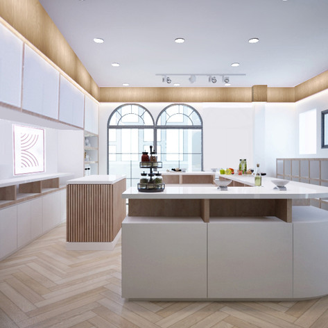 Interior View - KEIK Bakery Gading Serpong