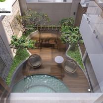 Garden Interior View - Residence Sunter Hijau