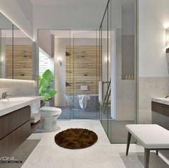 Master Bathroom - Villa Gunung Geulis