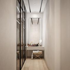 Closet Master Bedroom Interior View - Residence Grisenda