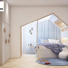 Children Bedroom Interior View - Residence Grisenda