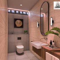 Toilet Interior View - Residence Sunter Hijau