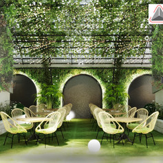 Interior View - HIDEAWAY Bar JW Marriott Hotel Jakarta