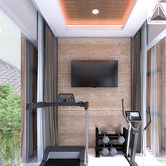 Gym Interior View - Residence Sunter Hijau