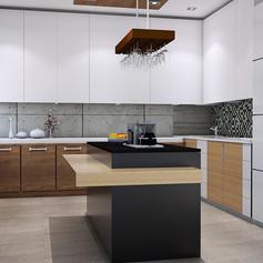 Kitchen View - Residence Pangkalan Bun