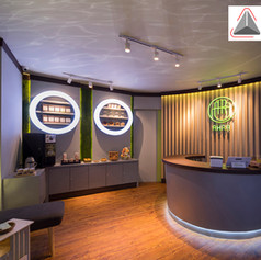 Interior View - AHRA Reflexology by NEST Group