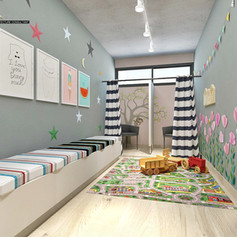 Interior View-1 Ruang Anak dan Laktasi -