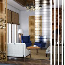 Guest Room Interior View - Residence Jatiwaringin