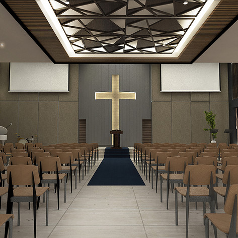 Interior View - GBIS Church Balikpapan