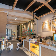 Interior View - BARKBERSHOP Pet Cafe