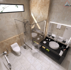 Bathroom View - Residence Pluit Timur