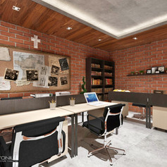Interior View - GKNS Church Cengkareng