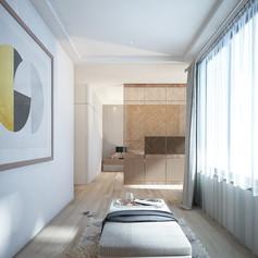 Master Bedroom Interior View - Residence Grisenda