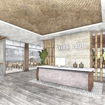 Interior View PONDOK KEDAI LAUT Restaurant - Balikpapan