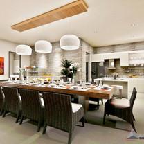 Dining Room Interior View - Villa Gunung Geulis