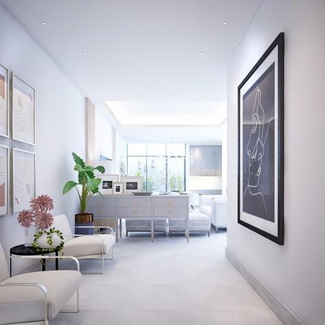 Foyer Interior View - Residence Pelepah Asri