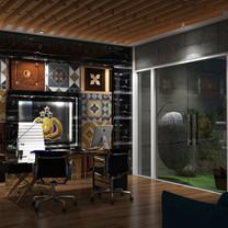 Working Room Interior View - Residence Jatiwaringin