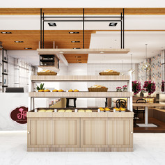 Interior View - JOYFUL BAKERY Makassar