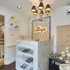 Interior View LASHTIQUE Store - EVONIL Architecture