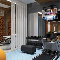 Gym Room Interior View - Residence Jatiwaringin