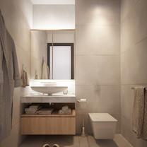 Bathroom Interior View - Residence Pelepah Asri