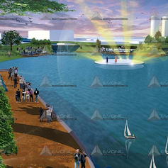 Exterior View - Waduk Pluit Proposal Design