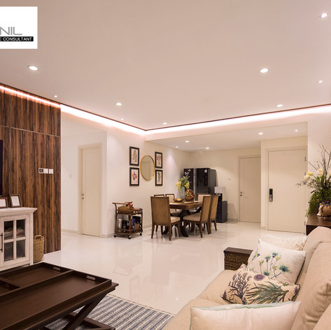 Living Room Interior View - Regatta Apartment