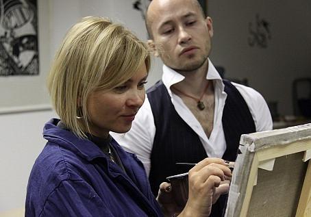 Экспериментальный класс с художником Евгением Севастьяновым