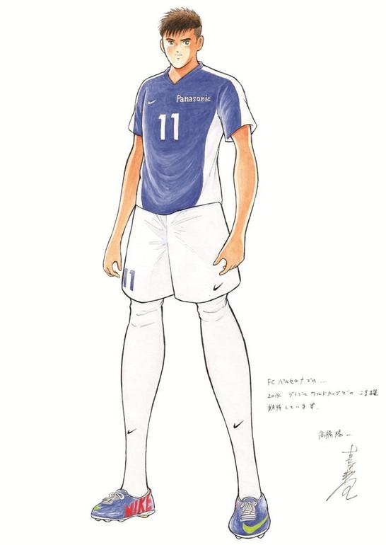 Panasonic / Neymar Jr. x Captain Tsubasa
