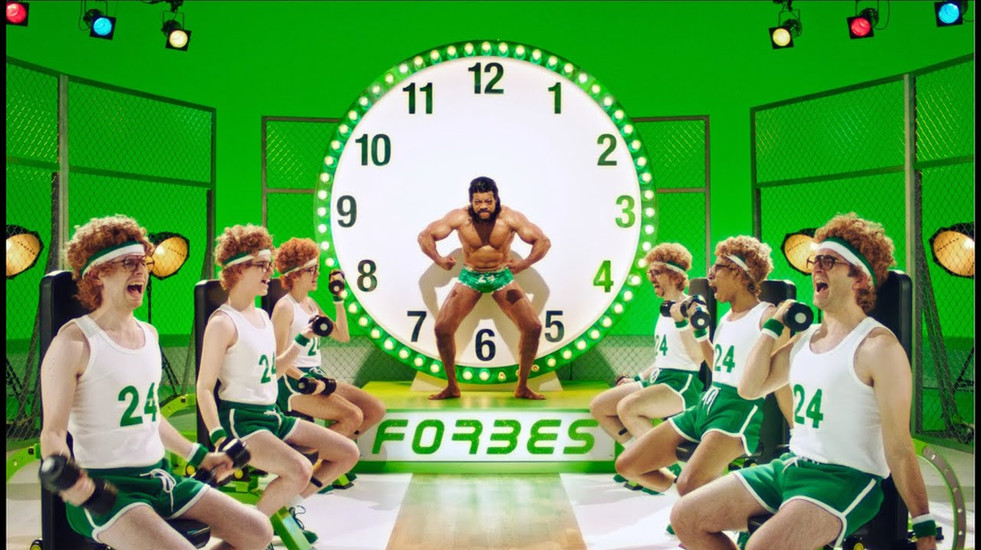Forbes 24h Fitness / Muscle Clock