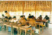 Professores_Waimiri_Atroari_em_curso_de_treinamento_na_Terra_Indígena_Waimiri_AtroariProfessores_Wai