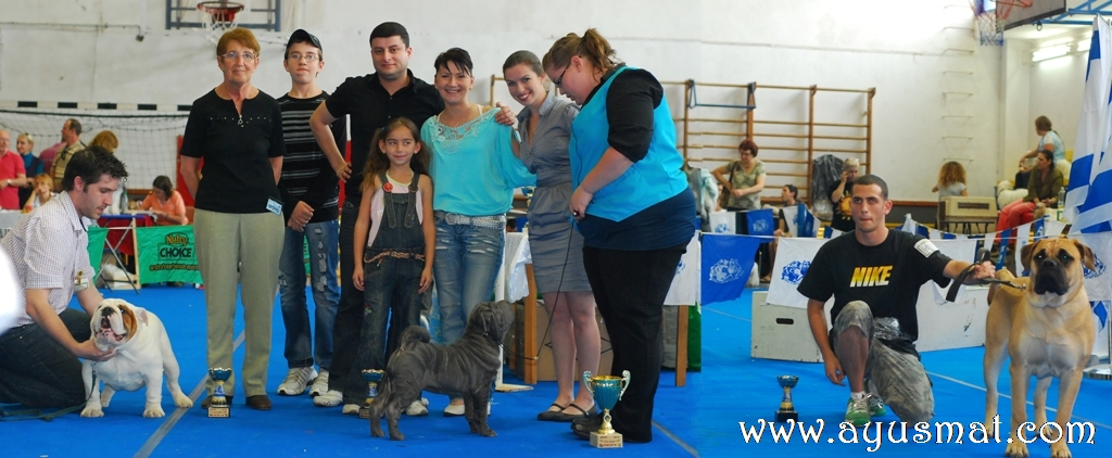 Doga Club Dog Show - 03.04.2010
