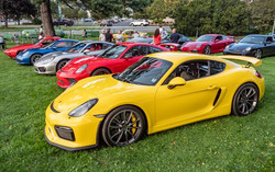 Porsches on the Lawn Sept 2021