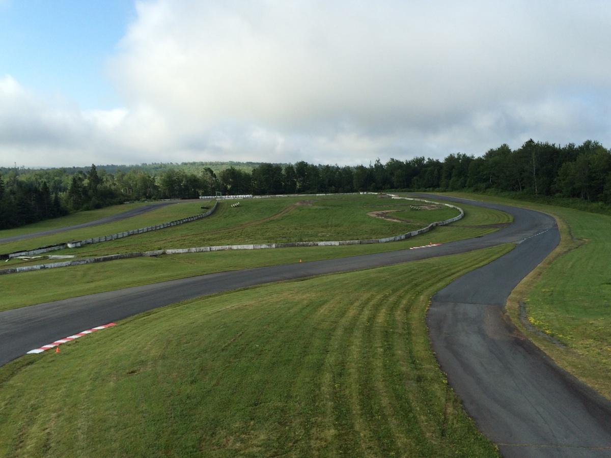 The track at AMP